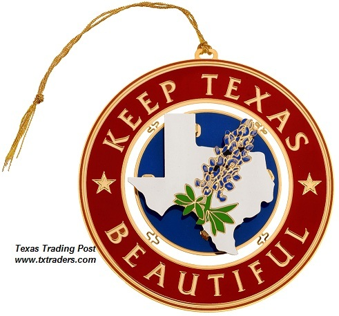 Keep Texas Beautiful Ornament 2004 - 1st Edition