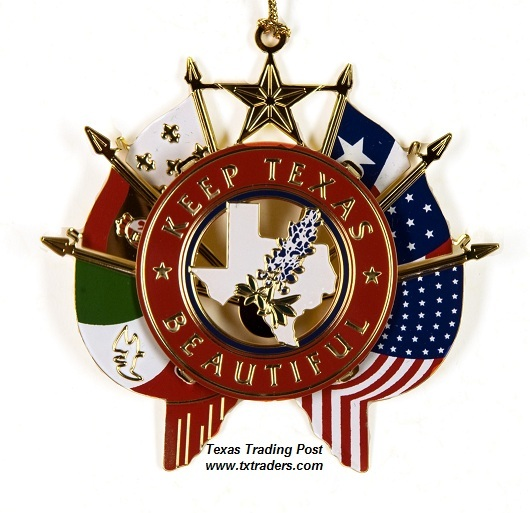 Keep Texas Beautiful Ornament 2009 - 6th Edition