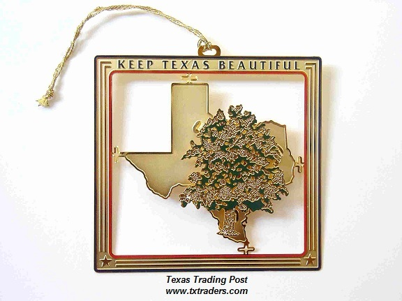 Keep Texas Beautiful Ornament 2005 - 2nd Edition