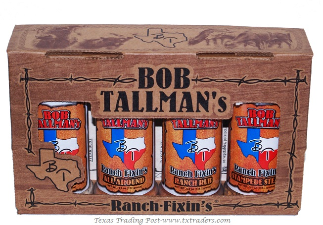 Bob Tallman's Texas Sampler - Texas Seasonings