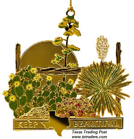 Keep Texas Beautiful Ornament 2008 - 5th Edition