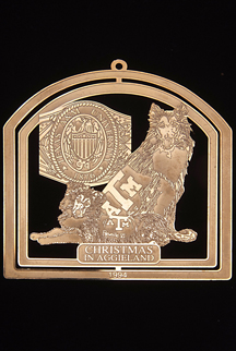 "1994 Texas A&M Collector's Ornament -""Changing of the Guard"""