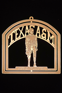 "1995 Texas A&M Collector's Ornament -""The 12th Man"""