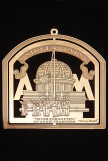 "1996 Texas A&M Collector's Ornament -""Never Forgotten"""