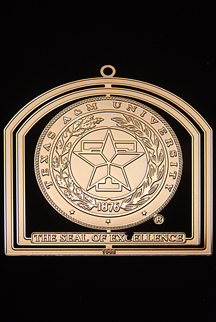 "1998 Texas A&M Collector's Ornament -""Seal of Excellence"""