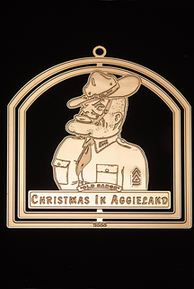 "2000 Texas A&M Collector's Ornament -""Old Sarge"""