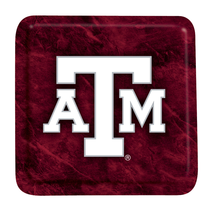 Texas A&M EcoBamboo Coasters