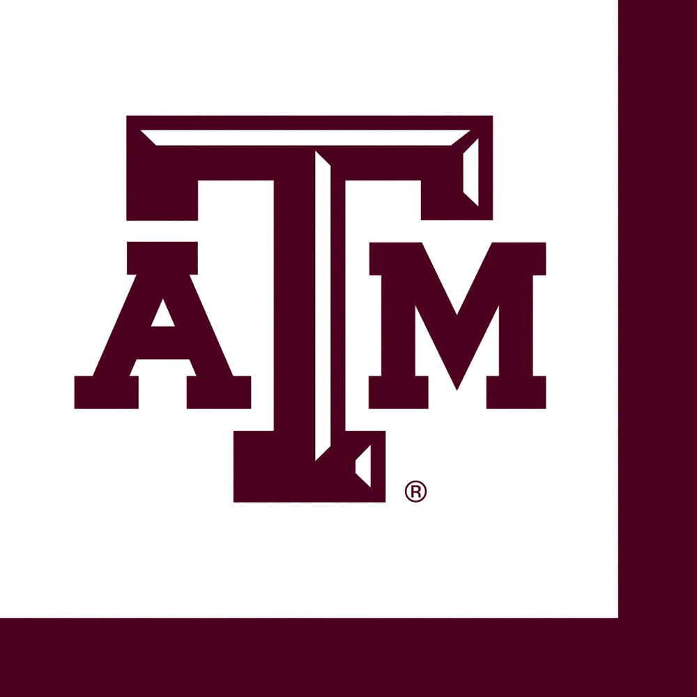 Texas A&M Dinner/Lunch Napkins