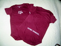 Baby Onesie for the Future Aggie Tailgater