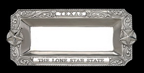Hand Crafted Texas Tray by Arthur Court