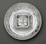 Hand Crafted Texas A&M Chip/Dip Tray-Arthur Court