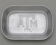 "Hand Crafted Texas A&M ""Catch All"" by Arthur Court"