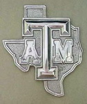 Hand Crafted Texas A&M Trivet by Arthur Court