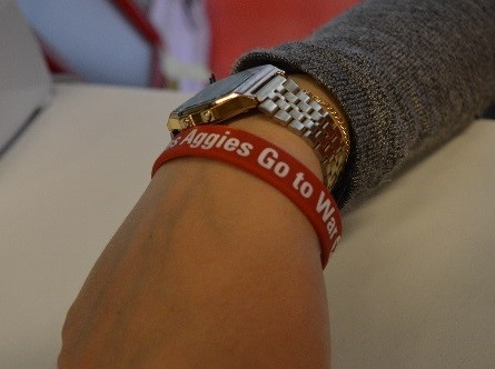 "Commemorative Bracelet ""From Texas to Bastogne"""