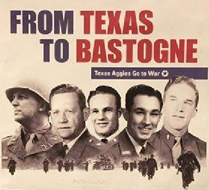 "Commemorative Magnet ""From Texas to Bastogne"""