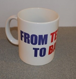 "Commemorative Mug ""From Texas to Bastogne"""