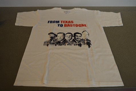 "Commemorative T-Shirt - ""From Texas to Bastogne"""