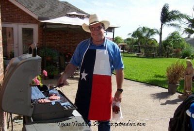 Ordinaire Texas Flag BBQ Apron
