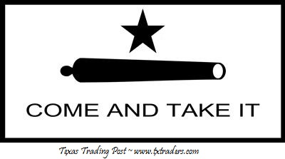 Come and Take It Bumper Sticker with Lone Star