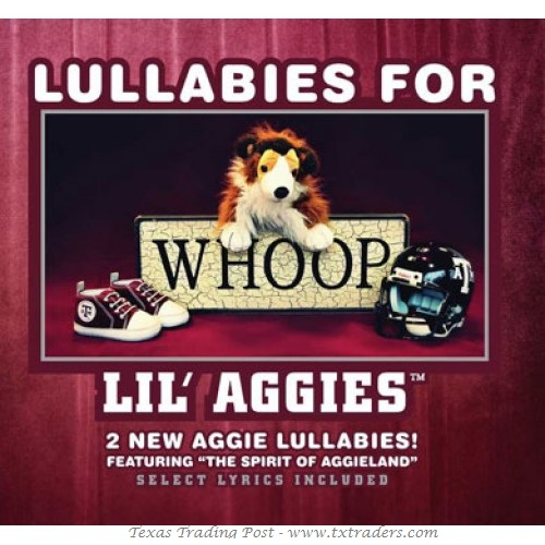 Lullabies for Lil' Aggies CD - Perfect Baby Gift for Baby Aggies