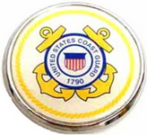 Car or Truck Auto Emblem - U.S. Coast Guard