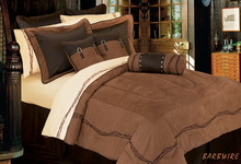 Barbwire Comforter Set/Bedding - Texas BedspreadSuper Queen