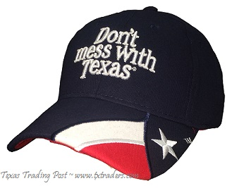 Don't Mess with Texas Navy Cap