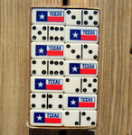Dominoes - Texas Flag by Puremco