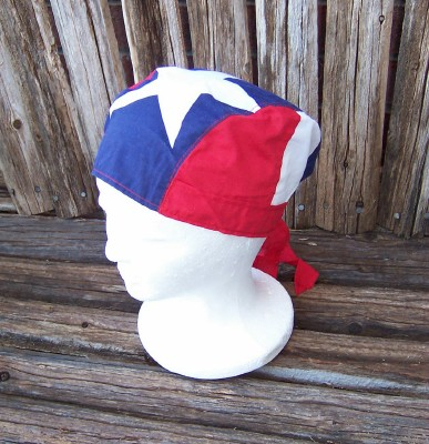 Texas Flag Doo Rag