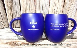 Texas Mugs and Texas Coffee Cups