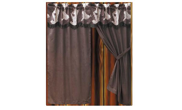 "Curtain ""Cowhide Design"""