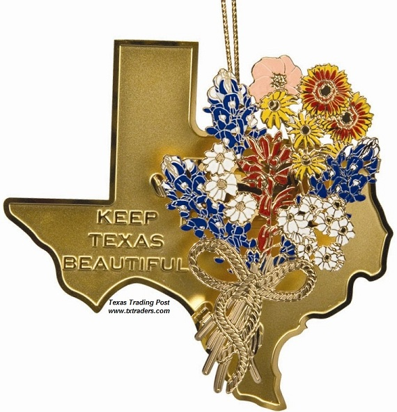 Keep Texas Beautiful Ornament 2007 - 4th Edition