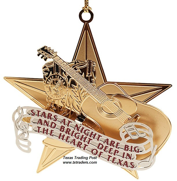 Keep Texas Beautiful Ornament 2012 - 9th Edition