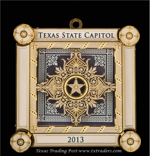 Texas State Capitol Ornament 2013