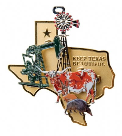 Keep Texas Beautiful Ornament 2013 - 10th Edition