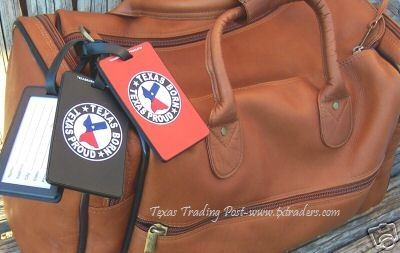 Luggage ID Tag- Texas Born - Texas Proud
