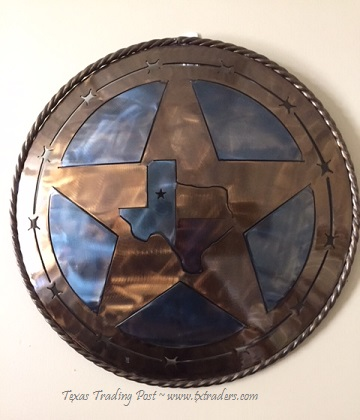 The State of Texas - Texas Metal Art