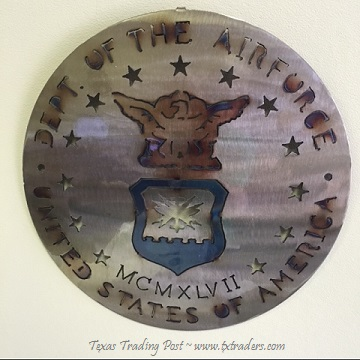 Military - United States Air Force Metal Art Sign