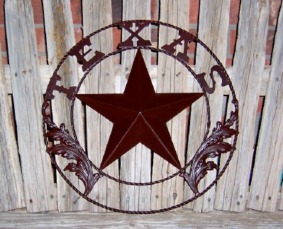Texas Lone Star Metal Wall Decor