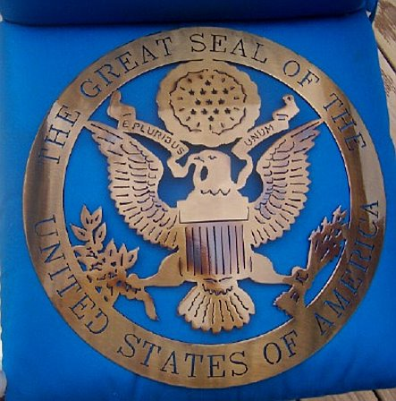 Great Seal of the United States of America Metal Art