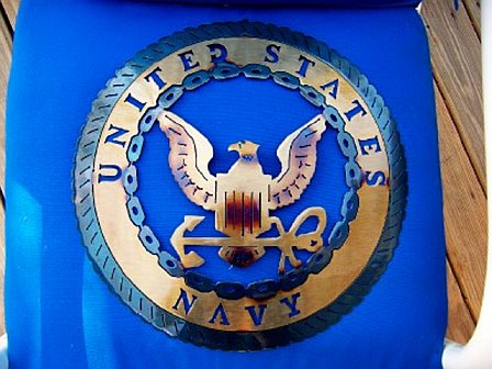 Military - United States Navy Metal Art