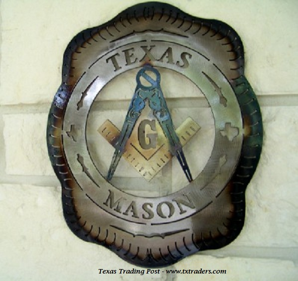Metal Art for Texas Masons
