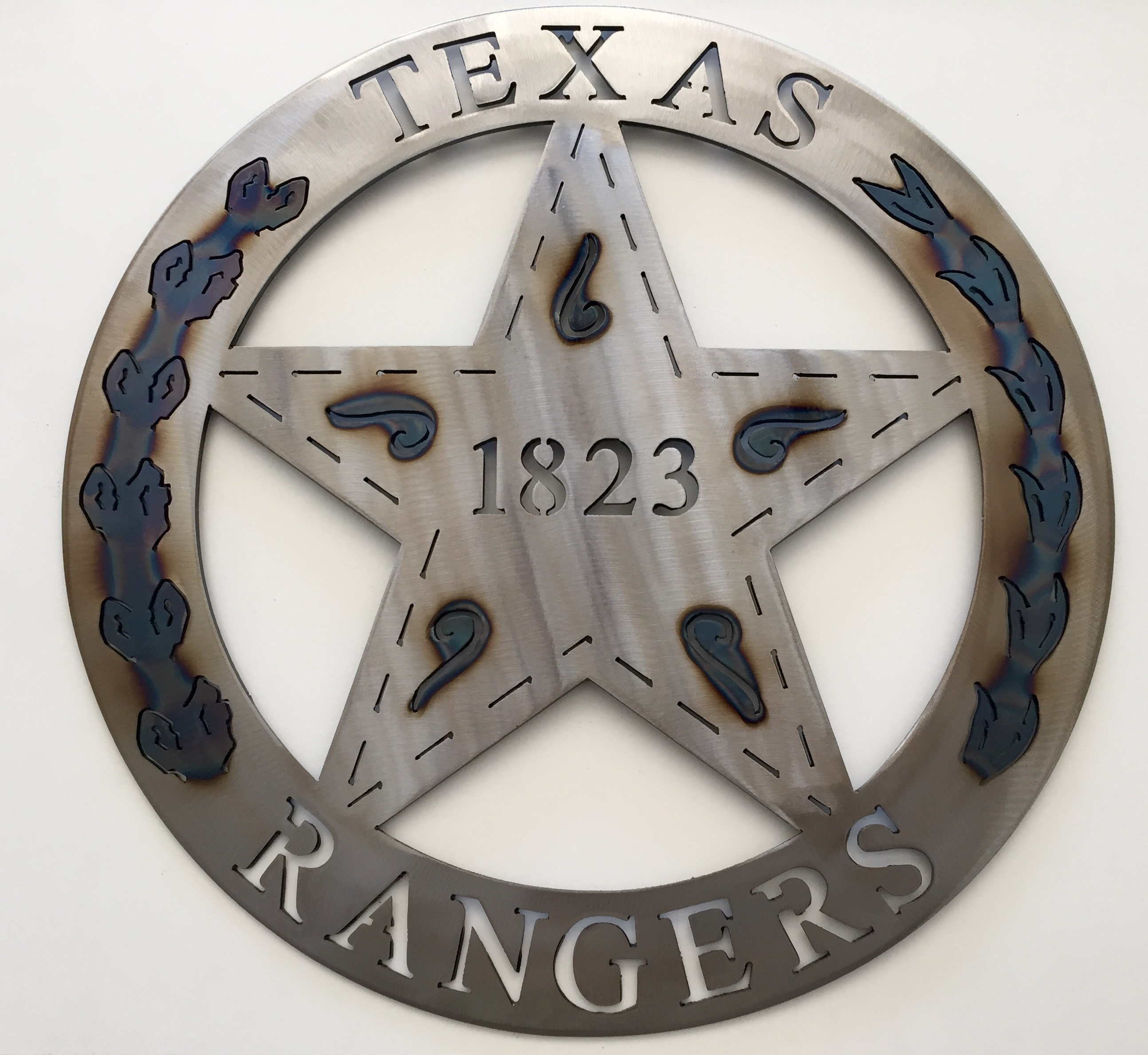 Texas Rangers - 1823 - Texas Metal Art