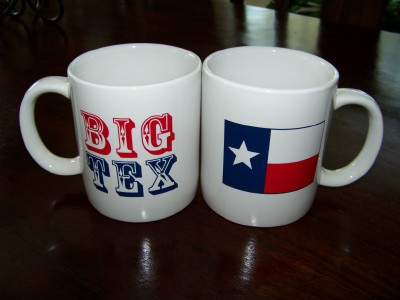 Big Tex Coffee Mug