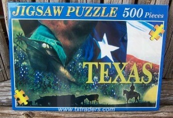 Collage of Texas Puzzle