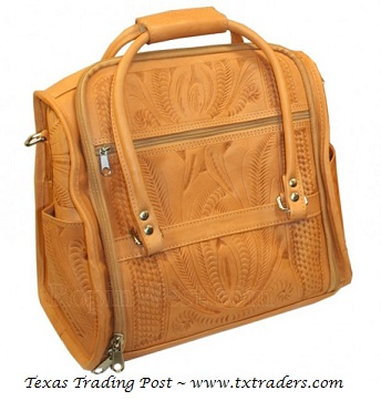 Ropin West Natural Leather Toiletry Bag