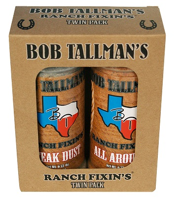 Bob Tallman's Texas Twin Pack - Texas Seasonings