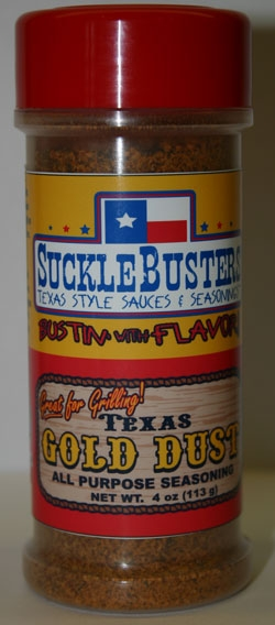 Sucklebusters Texas Gold Dust Seasoning
