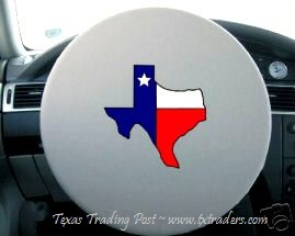 Texas Steering Wheel Cover