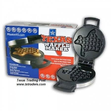 Texas Waffle Maker-Texas Shaped Waffles